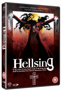 Hellsing DVD cover