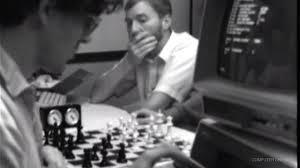 Computer chess grainy image