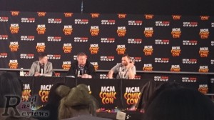 Manga UK answering questions at Comic Con Birmigham