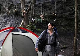 Devil campsite