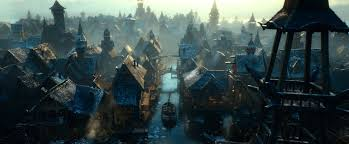 The Hobbit Lake Town