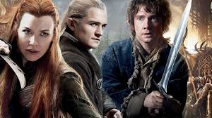 The Hobbit Tauriel Legolas and Bilbo