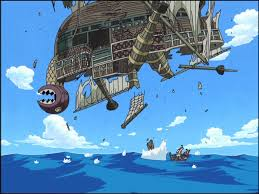 One Piece 6 Falling Galleon