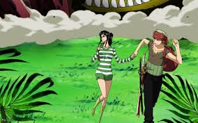 One Piece Strong World Robin and Zoro
