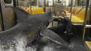 Sharknado 2 subway