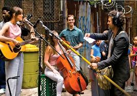 Begin Again street music