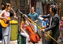 Begin Again street music