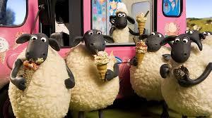 Shaun Christmas ice-creamvan