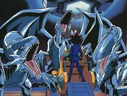 Yu-Gi-OH! Blue eyes white dragons