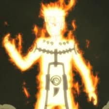 Naruto 20 9 tails chakra
