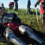 BBD Plantagenets battle reenactment