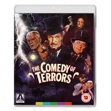 The Comedy Of Terrors cover
