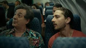 Charlie Countryman On The Plane