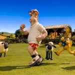 Shaun The Sheep Farmer jogging