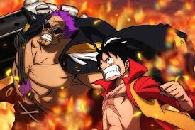 One Piece Film Z and Luffy