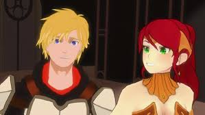RWBY Jaune and Pyrrha