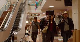 The Walking Deceased shopping mall