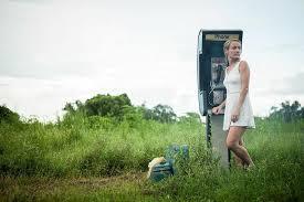 Buttercup Bill phone box in a field