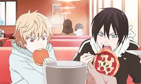 Noragami Yato and Yukine