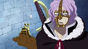 One Piece 12 golden transponder snail