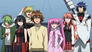 Akame Ga Kill night raid