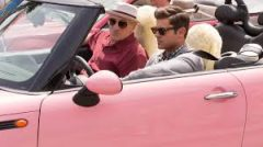 Dirty Grandpa Pink Car