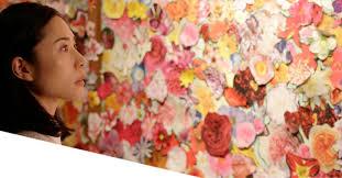 Journey flower wall