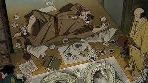 Miss Hokusai the house
