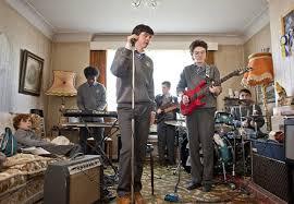 Sing Street living room rehearsal